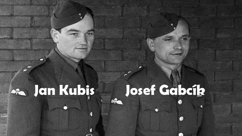 Josef Gabcík veJan Kubis Çekoslovakyalı paraşütçüler